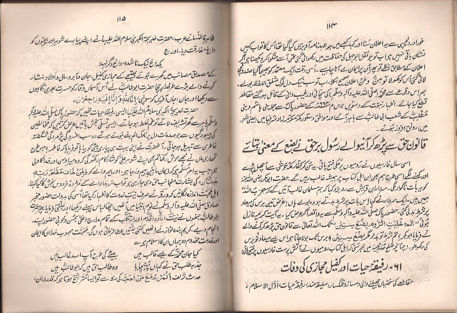 Seerat Un Nabi In Urdu Book Pdf